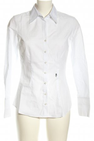 Seidensticker Hemdblouse wit-zwart zakelijke stijl