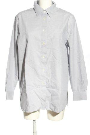 Seidensticker Hemd-Bluse hellgrau Business-Look