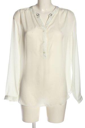 Seidensticker Hemd-Bluse wollweiß Casual-Look
