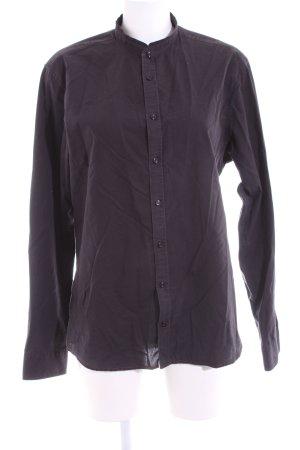 Seidensticker Hemd-Bluse lila Business-Look