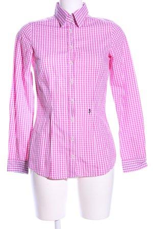Seidensticker Hemd-Bluse pink Allover-Druck Business-Look