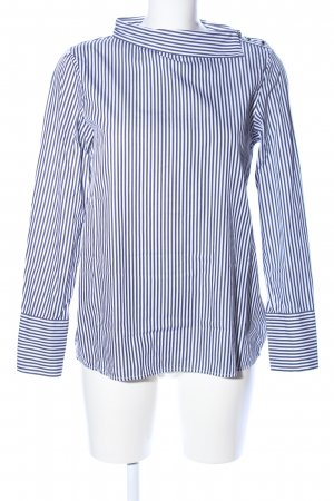 Seidensticker Hemd-Bluse schwarz-weiß Streifenmuster Business-Look