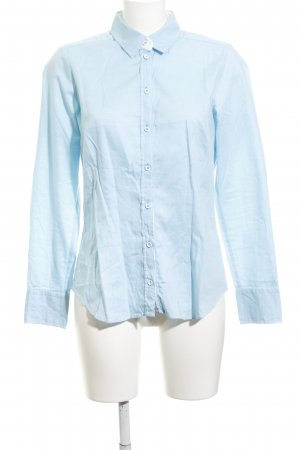 Seidensticker Hemd-Bluse hellblau Brit-Look