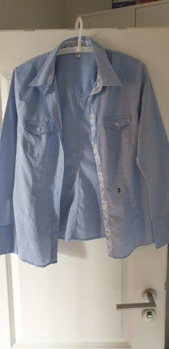 Seidensticker Hemdbluse blau