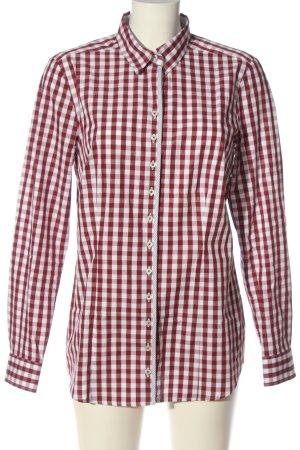 Seidensticker Holzfällerhemd rot-weiß Karomuster Casual-Look