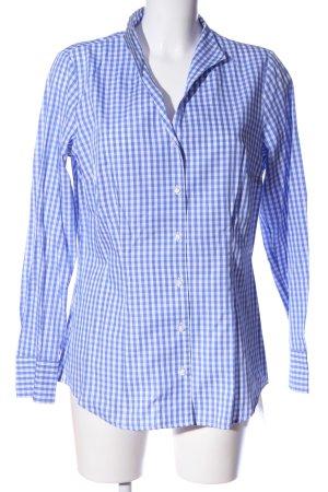Seidensticker Holzfällerhemd blau-weiß Karomuster Casual-Look