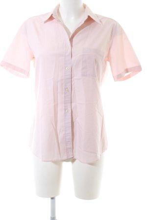 Seidensticker Kurzarm-Bluse pink Business-Look