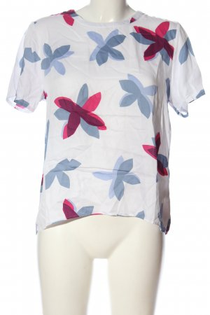 Seidensticker Kurzarm-Bluse Blumenmuster Casual-Look