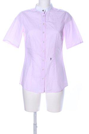 Seidensticker Kurzarmhemd pink-weiß Streifenmuster Business-Look