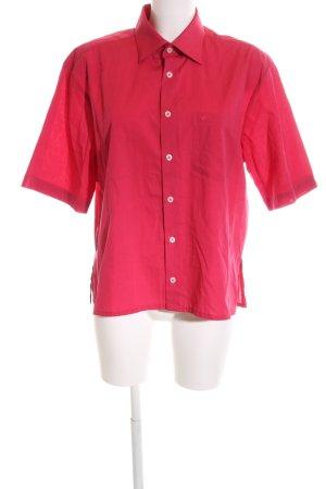 Seidensticker Camisa de manga corta rojo estilo «business»