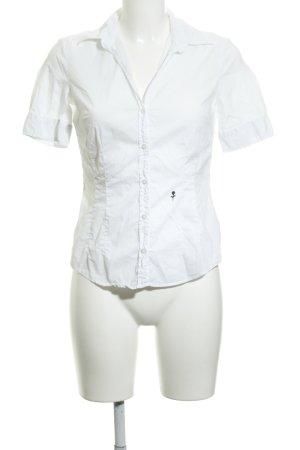 Seidensticker Kurzarmhemd weiß schlichter Stil