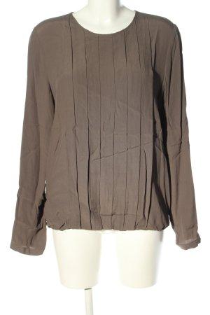 Seidensticker Langarm-Bluse braun Casual-Look