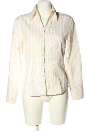 Seidensticker Langarm-Bluse creme-weiß Streifenmuster Casual-Look