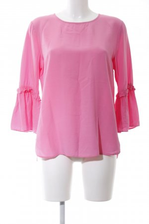 Seidensticker Langarm-Bluse pink Casual-Look
