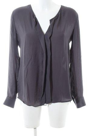 Seidensticker Langarm-Bluse lila Business-Look