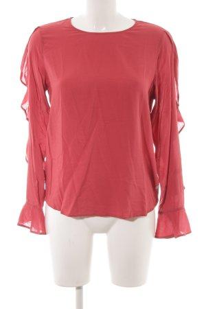 Seidensticker Langarm-Bluse rostrot Elegant