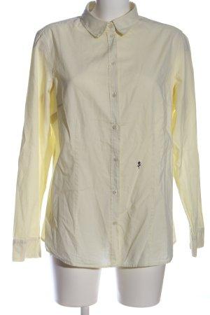 Seidensticker Langarmhemd blassgelb Business-Look