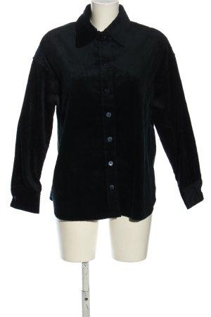 Seidensticker Langarmhemd schwarz Casual-Look