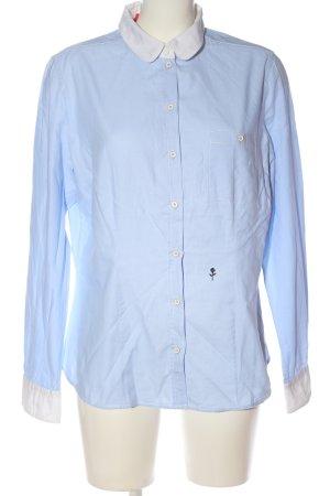 Seidensticker Langarmhemd blau-weiß Business-Look