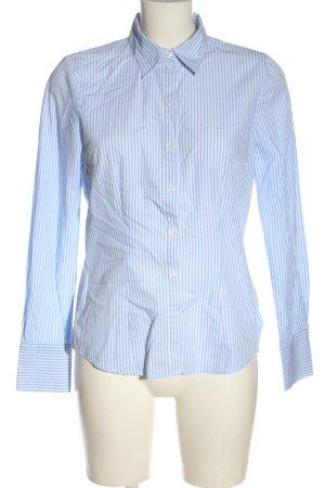Seidensticker Langarmhemd blau-weiß Streifenmuster Business-Look