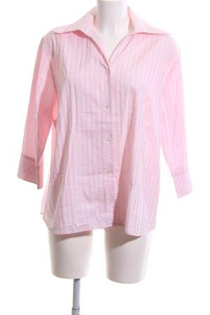 Seidensticker Langarmhemd pink Streifenmuster Business-Look