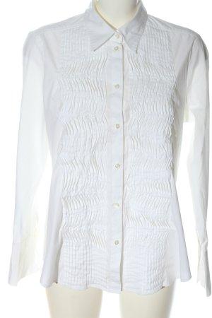 Seidensticker Chemise à manches longues blanc style décontracté