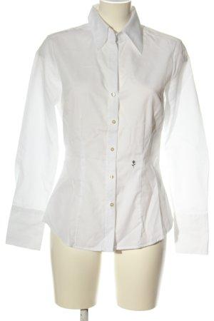 Seidensticker Camisa de manga larga blanco look casual