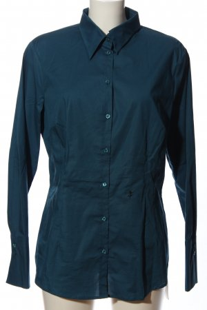 Seidensticker Langarmhemd blau Business-Look