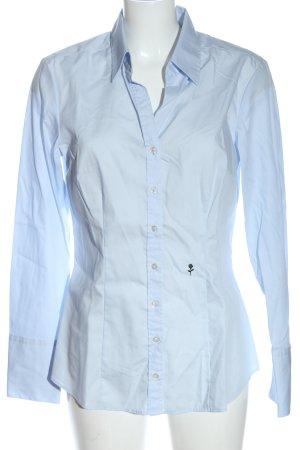 Seidensticker Langarmhemd blau Casual-Look
