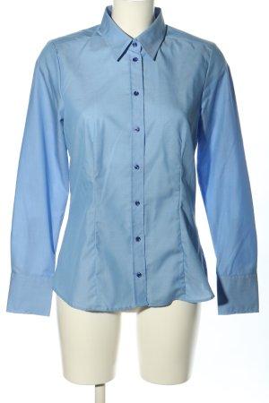 Seidensticker Langarmhemd blau Elegant
