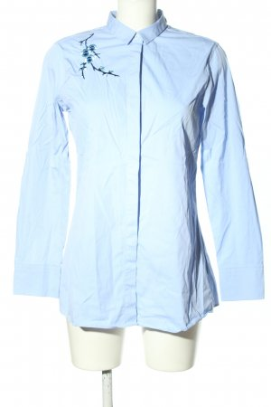 Seidensticker Long-Bluse blau Farbverlauf Casual-Look