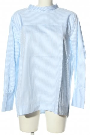 Seidensticker Oversized Bluse blau-weiß Streifenmuster Business-Look
