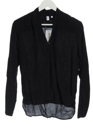 Seidensticker Schlupf-Bluse schwarz Casual-Look