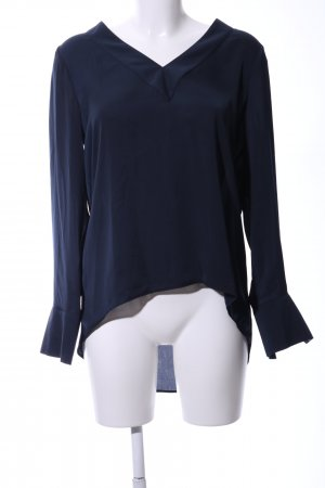 Seidensticker Schlupf-Bluse blau Casual-Look