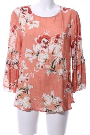 Seidensticker Schlupf-Bluse Blumenmuster Casual-Look