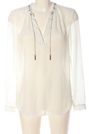 Seidensticker Transparenz-Bluse wollweiß Elegant