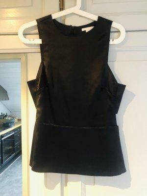 H&M A Line Top black