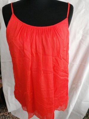 Hallhuber Silk Top orange