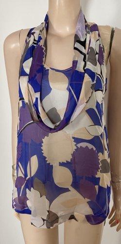 Diane von Furstenberg Top de seda multicolor Seda
