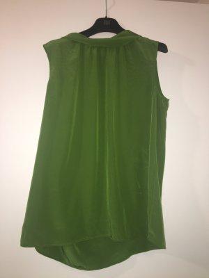 Luisa Cerano Silk Top green