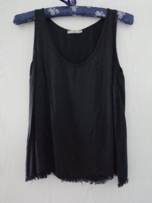 Silk Top black silk
