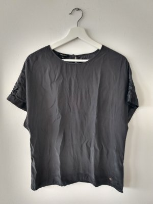 Escada Silk Top dark grey silk