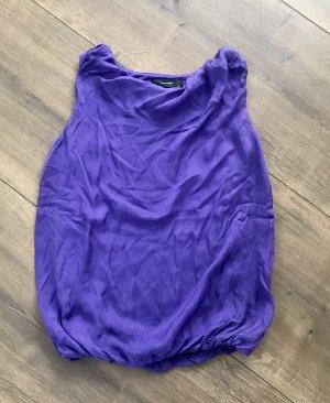 Hallhuber Silk Top lilac