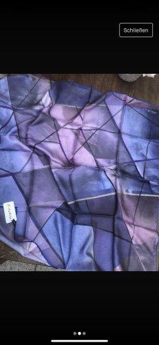 Foulard en soie bleu-violet