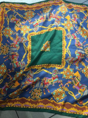 Prochownick Zijden doek veelkleurig