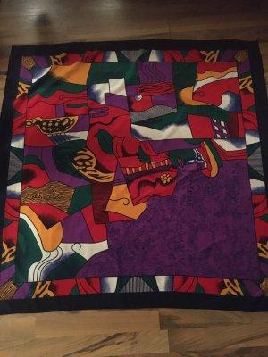 Paloma Picasso Foulard en soie multicolore