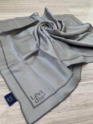 Levi'dor Sciarpa di seta grigio