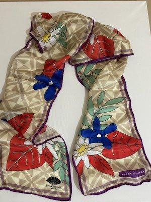 Talbot Runhof Pañuelo de seda multicolor Seda