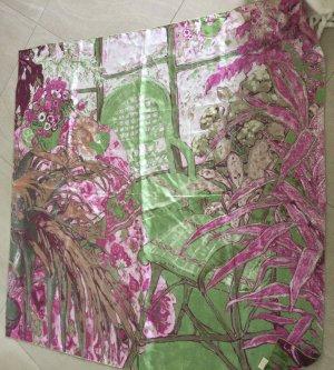 Galeria kaufhof Zijden doek lichtgroen-roze