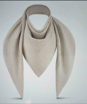 Louis Vuitton Fazzoletto da collo crema-beige chiaro Seta